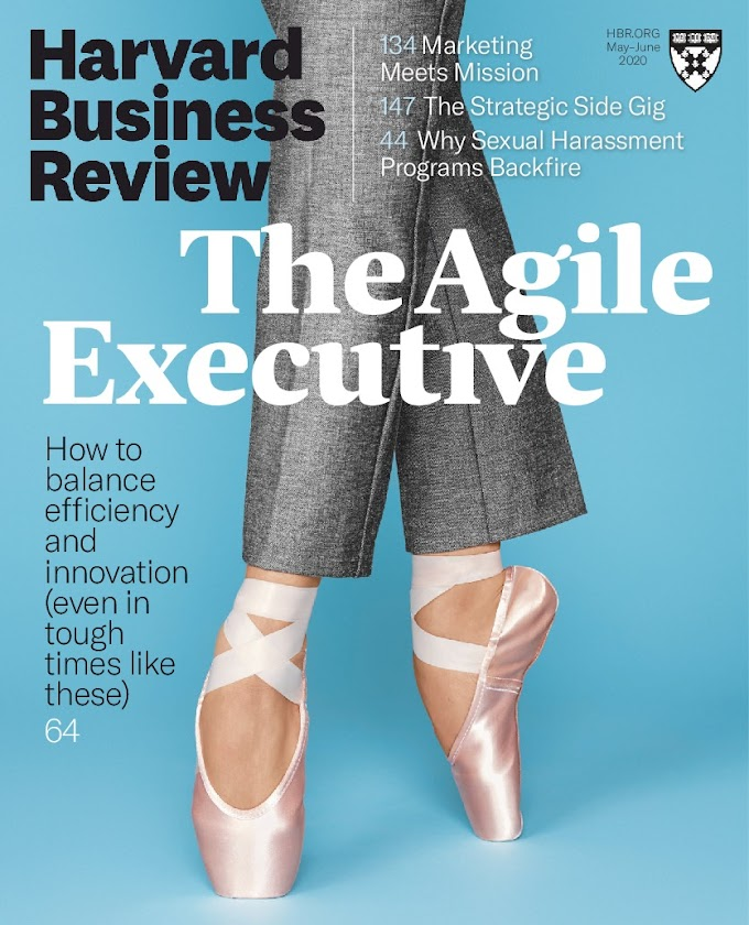 2020-05 Harvard Business Review (HBR, May 2020)