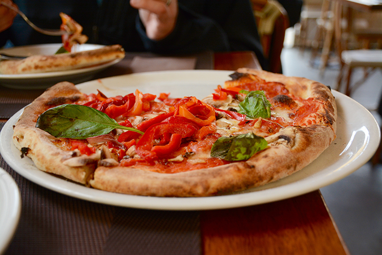 Pizza | Travel: Florence, Italy | My Darling Days