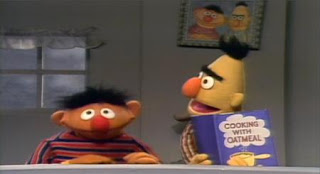 Ernie gets Bert to play a rhyming game. Sesame Street Elmo's Travel Songs and Games