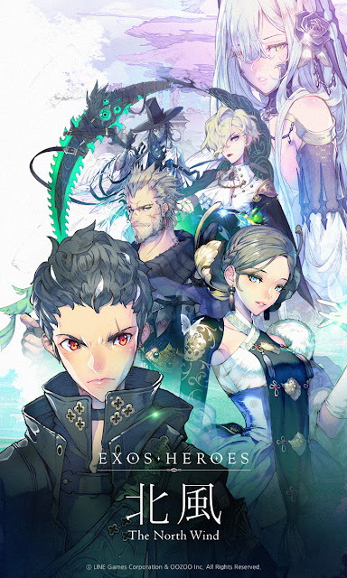 LINE Games' Hero Collecting RPG Exos Heroes Updates Season 2 Episodes 'The North Wind'