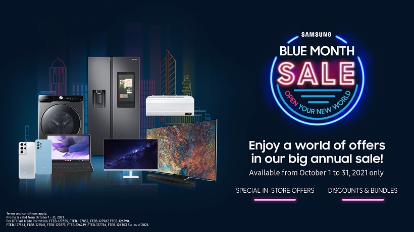 Samsung's premium products now on sale at the annual Blue Month Sale