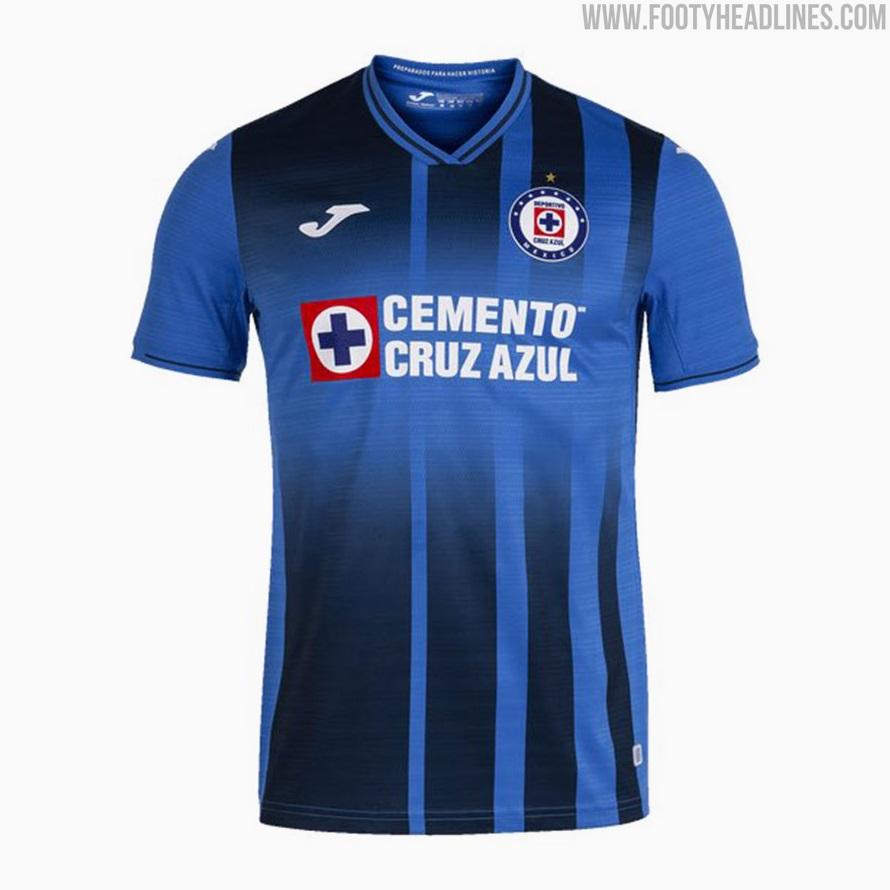 Cruz Azul 21-22 Home, Away & Third Kits Revealed - Footy Headlines