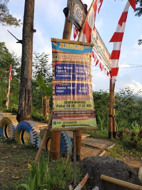 Claket Adventure Park Pacet Tarif Masuk dan Prewedding