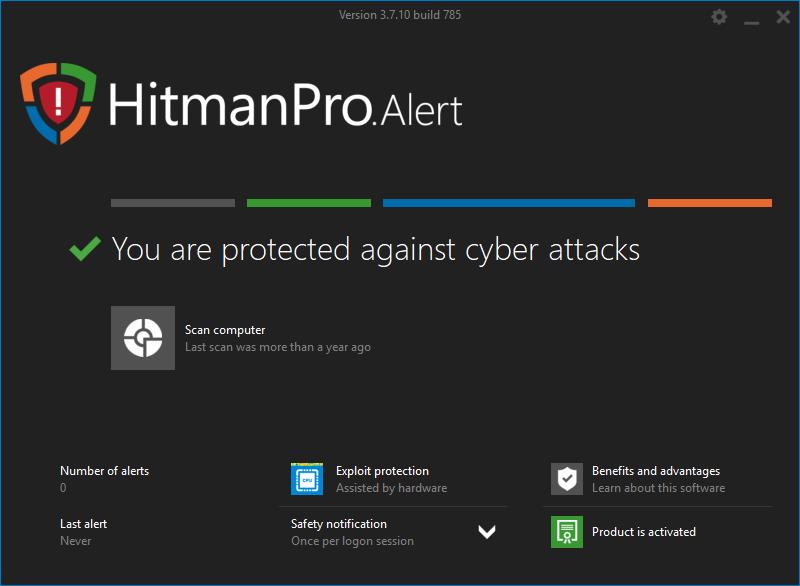 HitmanPro.Alert v3.7.10 Build 785 + Ativador Download Grátis