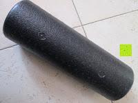 Seite: Faszien Rolle, Foamroller »Andhera«, Massagerolle zur effektiven Selbstmassage, schwarz in 4 Längen von 30 bis 90 cm erhältlich.