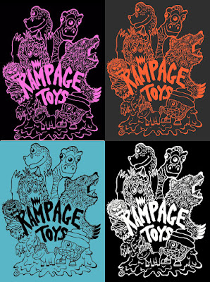 Rampage Toys T-Shirt by Jon Malmstedt