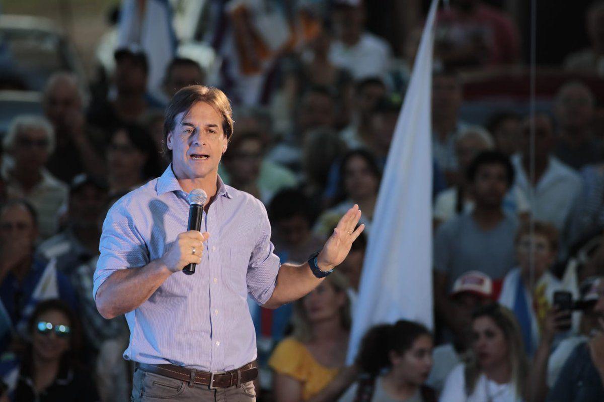 Lacalle Pou logra un estrecho margen para llevar al Partido Nacional al poder  / MERCOPRESS