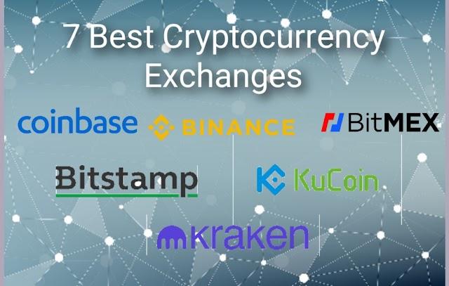 7 Top Best Cryptocurrency Exchanges.