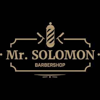 Logo Mr. Solomon барбершоп Одесса