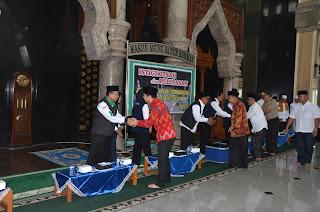 Mohon Keselamatan, 627 Calon Jamaah Haji Trenggalek Gelar Istighotsah