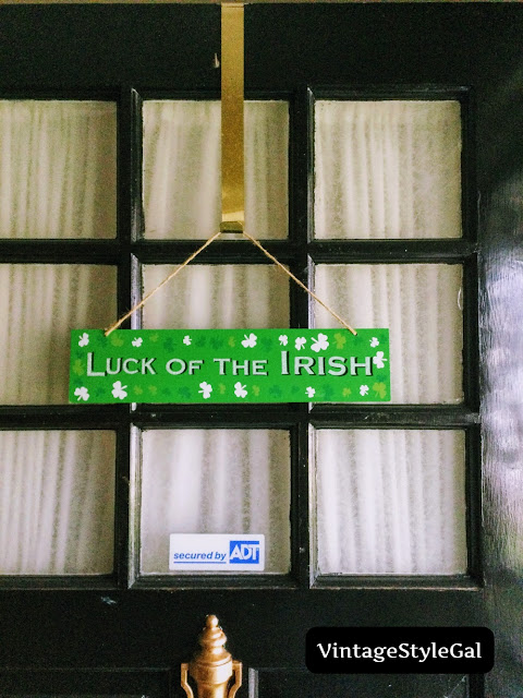 ST Patrick's Day Sign