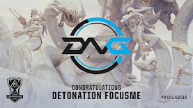 DetonatioN FocusMe - Những Chiến Binh Samurai Trở Lại CKTG 2019
