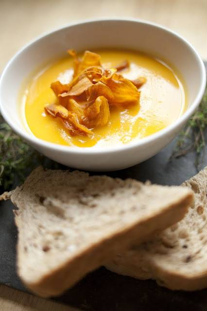 Sweet Potatoes And Orange Soup Recipe For Winter