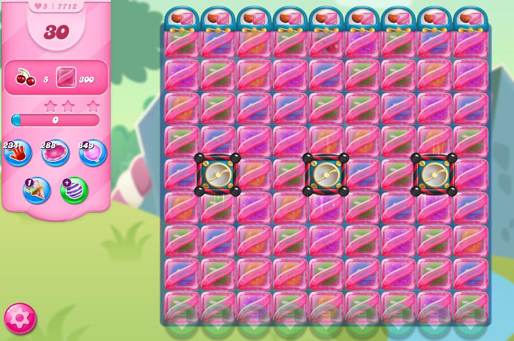Candy Crush Saga level 7712