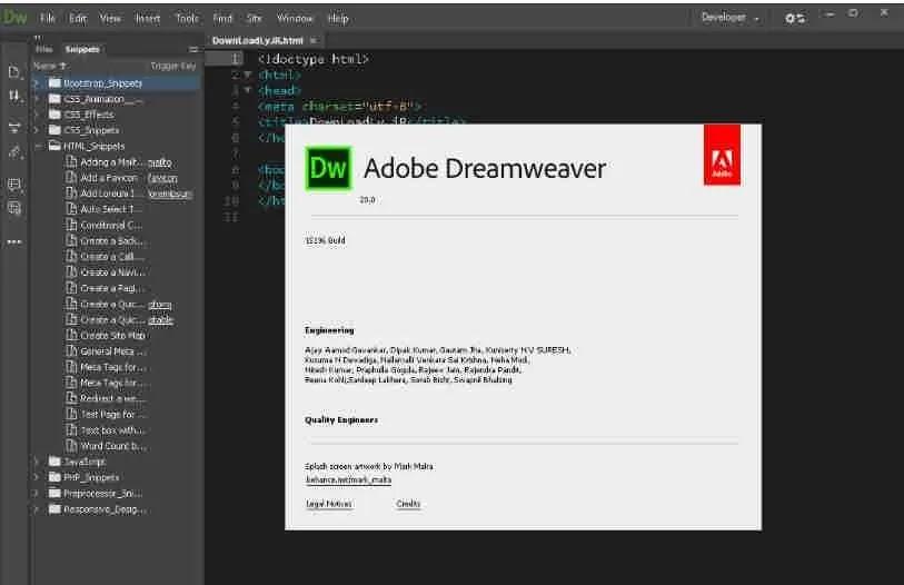 تحميل برنامج Adobe Dreamweaver 2020 v20.0 أداة تطوير الويب النسخة الكاملة