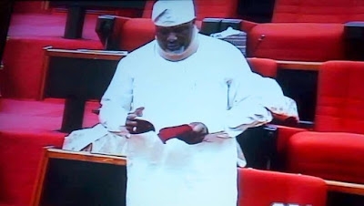 Dino Melaye Causes Confusion In Senate, 'Decamps' To PDP