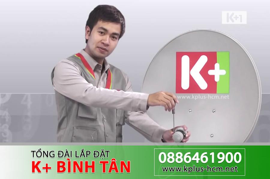 Đơn vị lắp đặt truyền hình K+ tại Quận Bình Tân TP.HCM
