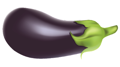 picture of eggplant clipart