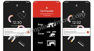 गूगल अगले साल तक एंड्रॉयड में Earthquake Alerts System लॉन्च कर सकती है - डिंपल धीमान
