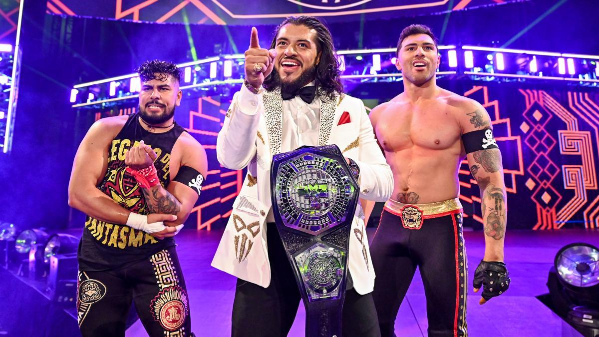 Santos Escobar se torna NXT Undisputed Cruiserweight Champion