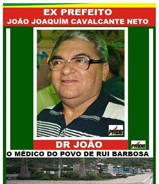 FATOS DO RN : Dr. João, ex-prefeito da cidade de Ruy Barbosa/RN, morre  vítima da COVID-19