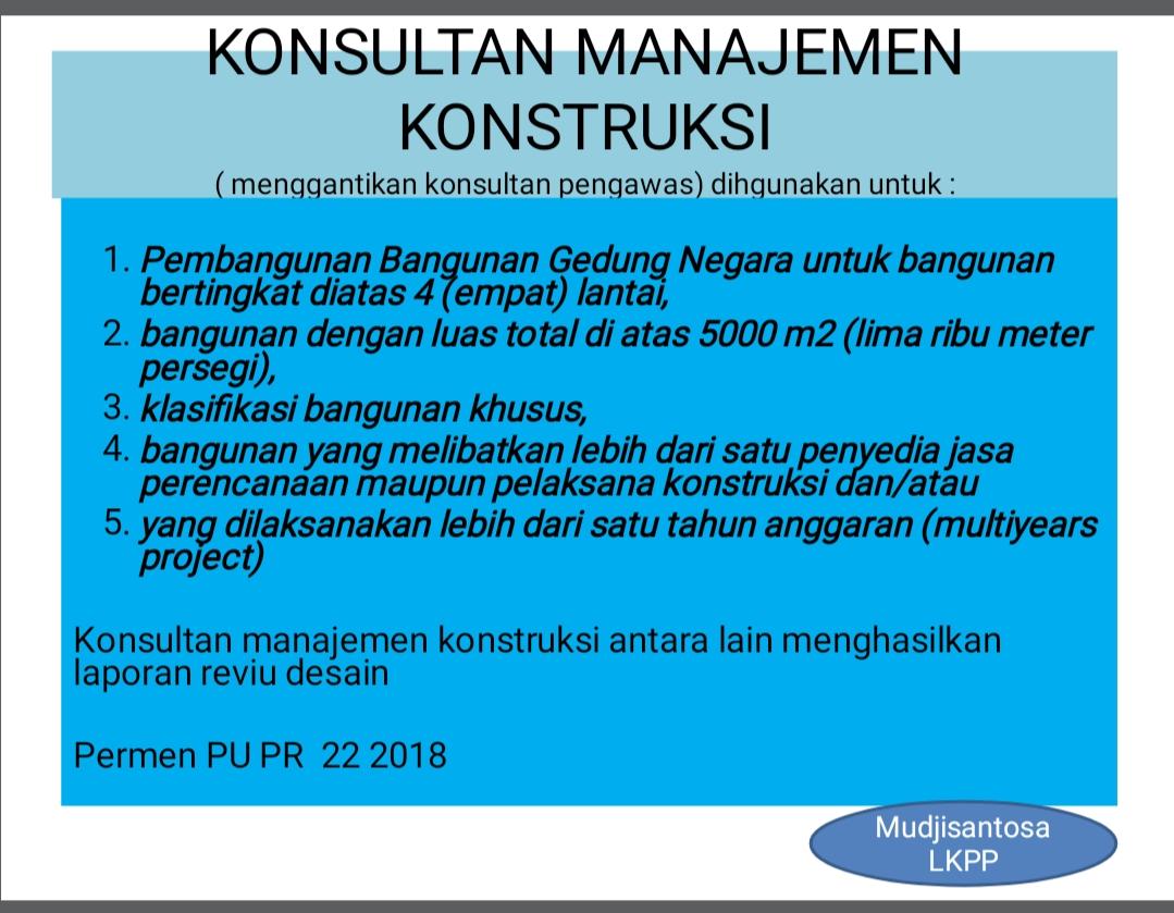 Konsultan manajemen konstruksi di indonesia