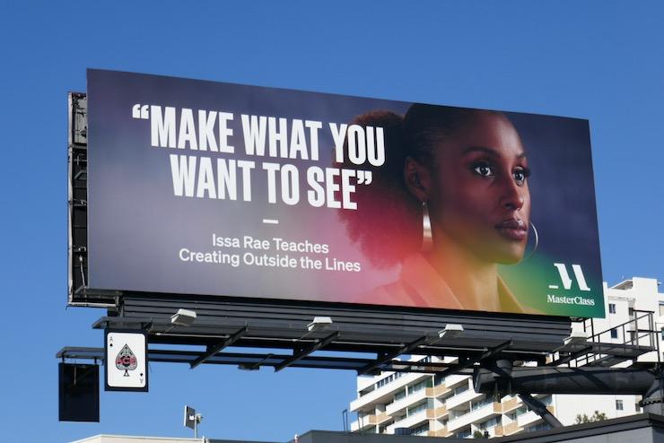 MasterClass Issa Rae billboard