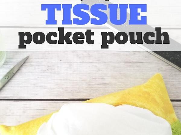 Quick Pocket Tissue Holder Tutorial
