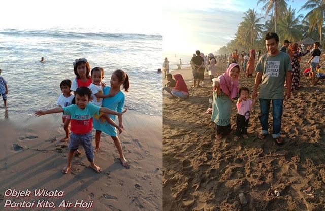 Wisata Ke Pantai Kito Air Haji Pessel