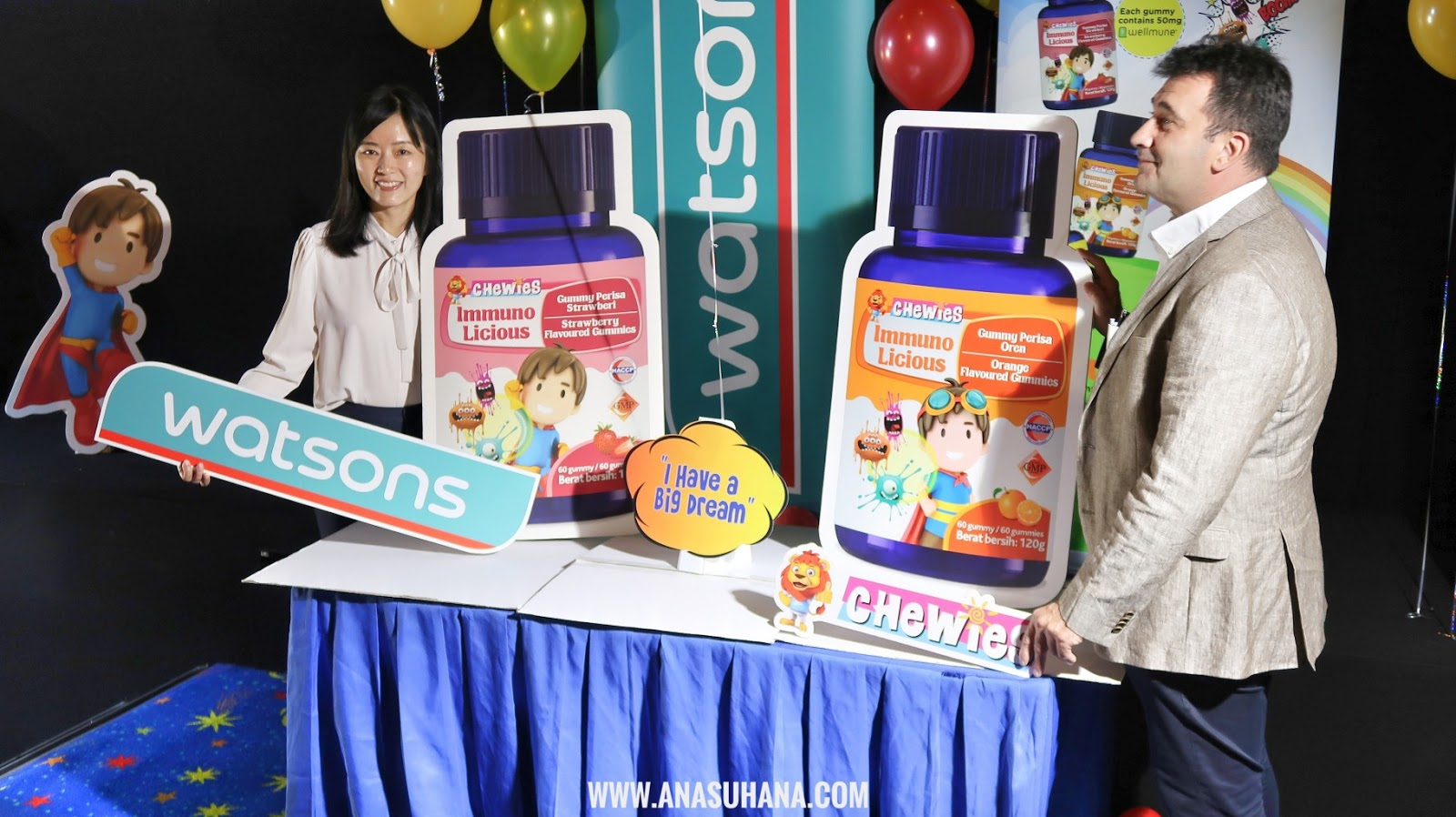 "Pertandingan ""I Have A Big Dream"" Watsons x Chewies"