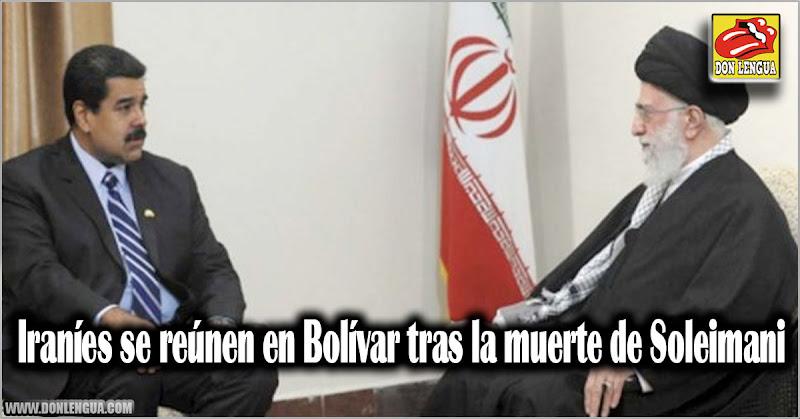 Iraníes se reúnen en Bolívar tras la muerte de Soleimani