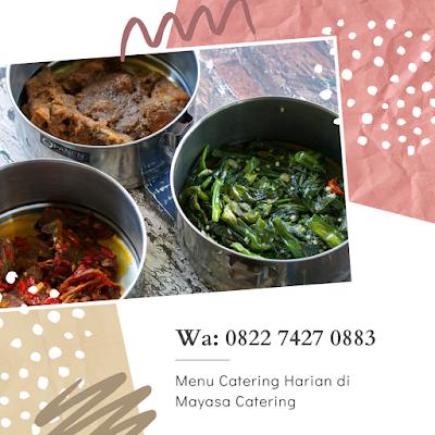 menu catering harian medan