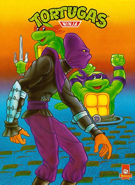 Póster Las Tortugas Ninja nº 11