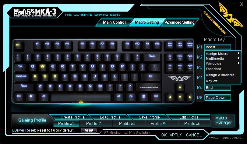 Unboxing & Review: Armaggeddon Black Hornet MKA-3 Mechanical Gaming Keyboard 20