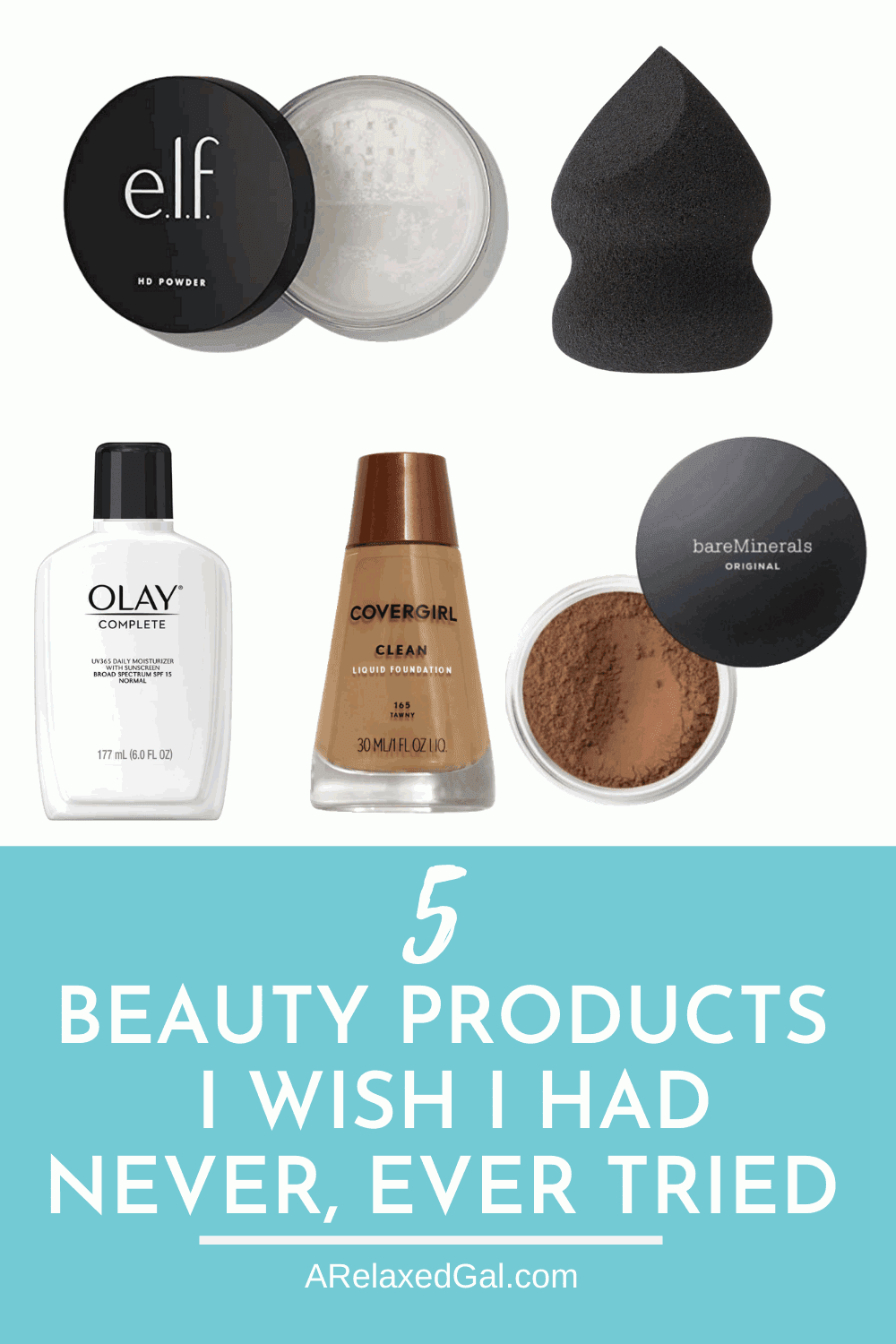 Beauty products I never should have tried | A Relaxed Gal