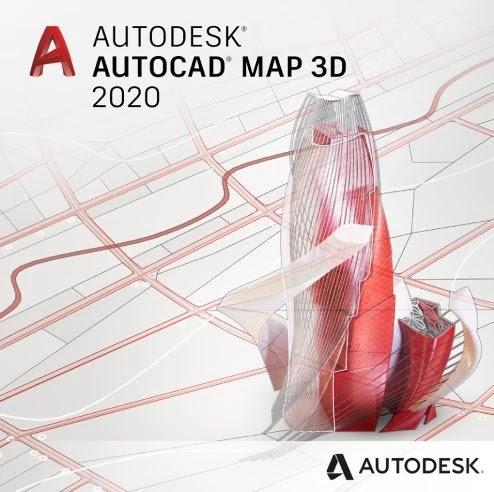 تحميل Autodesk AutoCAD MAP 3D 2020 مع التفعيل