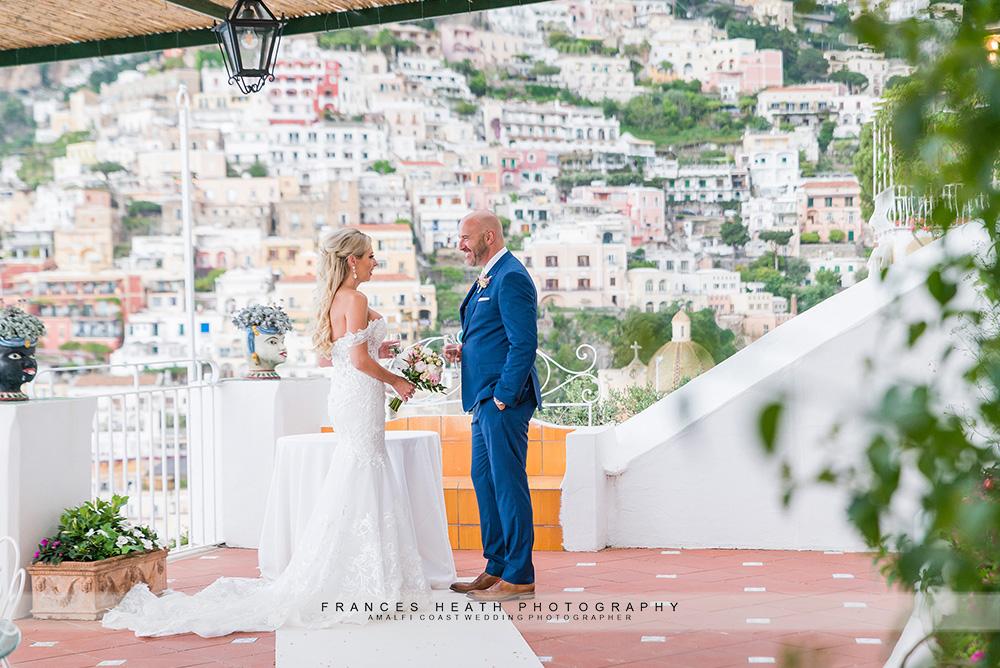 Wedding ceremony hotel Marincanto