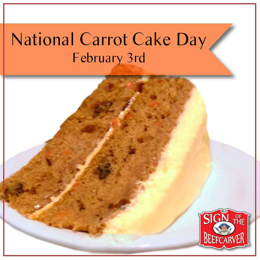 National Carrot Cake Day Wishes Sweet Images