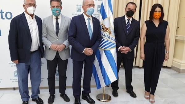 El Málaga CF recibirá más de 350.000 euros por parte del Ayuntamiento