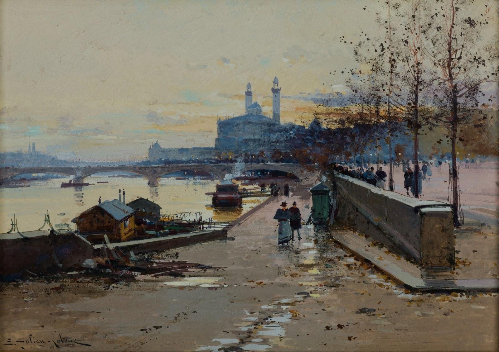 Eugene Galien-Laloue - French Painter (1854-1941) - Fine ...
