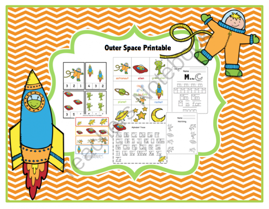Outer Space Printable