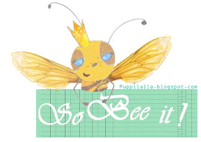Puppilalla Original Design Copyright 2015, Queen Bee, Quilting Bee