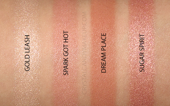 NARS Hot Fix Cheek Palette Cool Crush Swatches