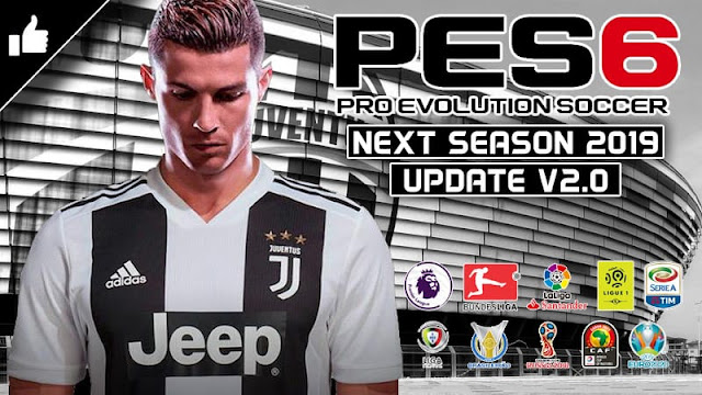 PES6 NEW PATCH FOR SEASON 2018/2019
