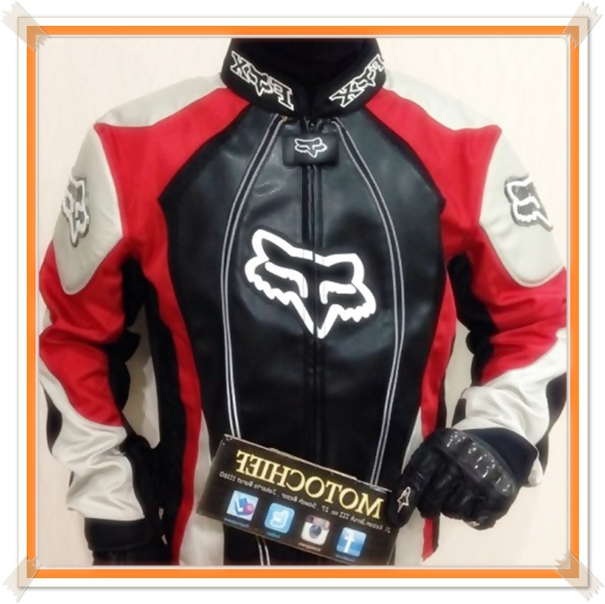 model jaket touring fox