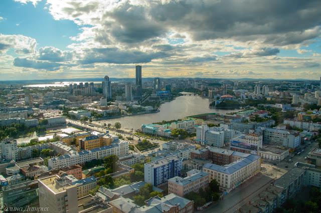 Вид сверху Екатеринбург фото