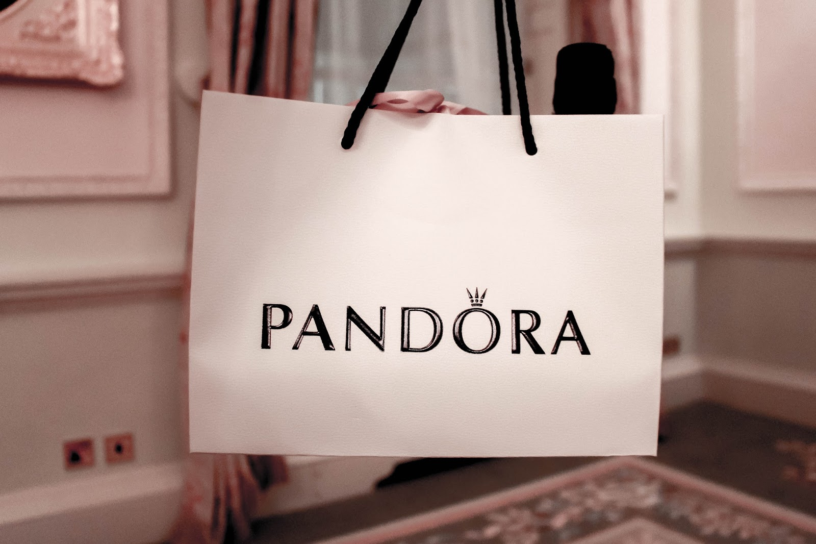 Pandora Gift Bag Fashion Bloggers Event at The Ritz