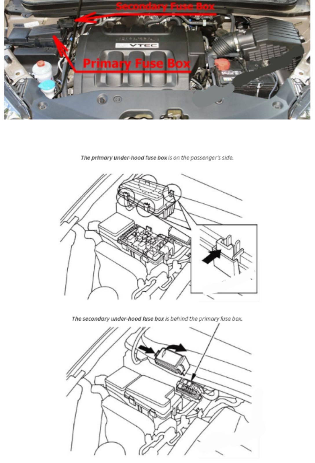Letak Fusebox Honda Odyssey 2005