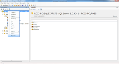 Mengaktifkan login user sa di Microsoft SQL Server 2005