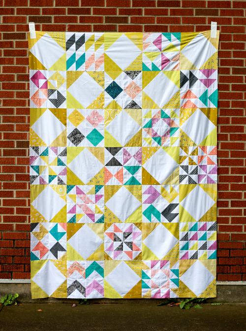 Interlaced Quilt designed by Jeni Baker of In Color Order